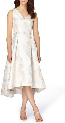 Women's Tahari Jacquard Midi Dress $209 thestylecure.com