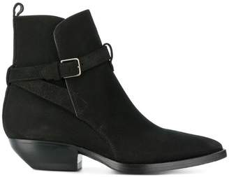 Saint Laurent Theo 40 ankle boots