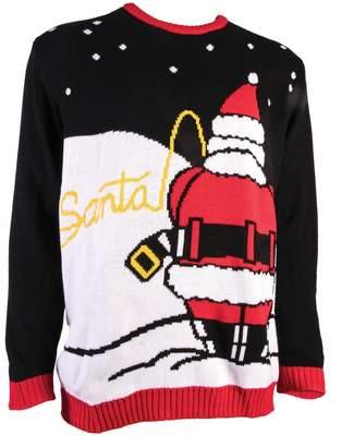Forum Men's Ugly Christmas Sweater, Santa's Pee Break