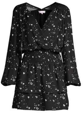 Parker Clementine Heart Print Dress