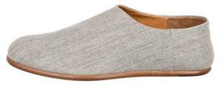 Maison Margiela Woven Round-Toe Loafers w/ Tags
