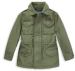 Ralph Lauren Little Girl's & Girl's Military Jacket
