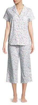 Karen Neuburger Two-Piece Floral Printed Pajama Set