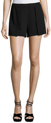Alice + Olivia Larissa Single-Pleat Shorts