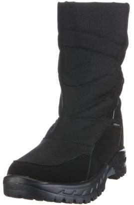 Lico Men's Ice Mount Snow Boots, Black Schwarz