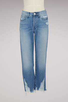 Dover Higher Ground boyfriend crop jeans