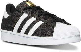adidas Little Boys' Superstar Casual Sneakers from Finish Line $59.99 thestylecure.com