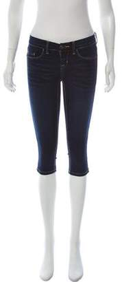 Blank NYC Zip-Accented Straight-Leg Jeans