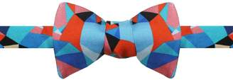 Emily Carter - The Spectrum Bow Tie in Salmon Pink