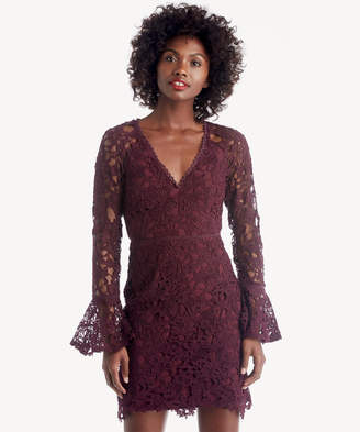 Astr Women's Juliette Dress In Color: Wine Size XS From Sole Society