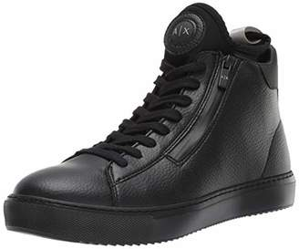 Armani Exchange A|X Men's High Top Lace Up Sneaker