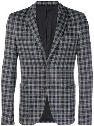 Fendi checkered blazer