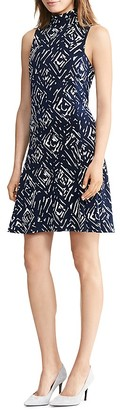 Lauren Ralph Lauren Abstract Print Dress $134 thestylecure.com
