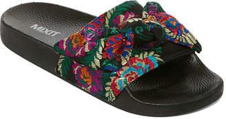 Pool' MIXIT Mixit Brocade Pool Womens Slide Sandals