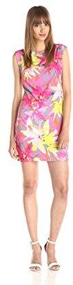 Trina Turk Women's Felana 2 Summer Orchid Matte Jersey Dress $68 thestylecure.com