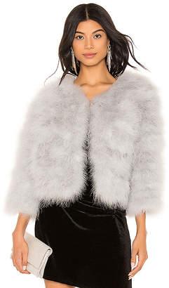 Jocelyn Feather Bolero Jacket
