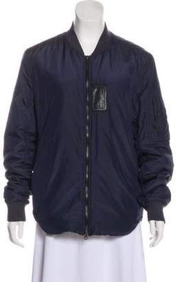 Acne Studios Bomber Zip-Up Jacket