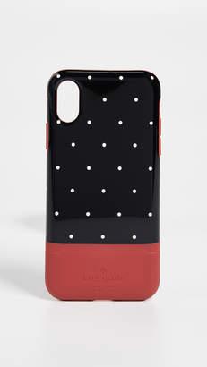 Kate Spade Dot Credit Card iPhone X Case