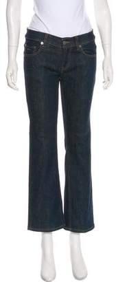 Prada Sport Mid-Rise Straight Jeans