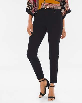 So Slimming Refined Ponte Ankle Pants