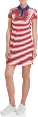 U.S. Polo Assn. Striped Polo Dress