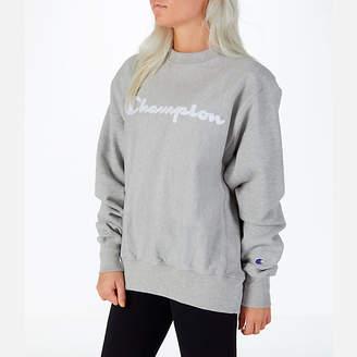 Champion Women's Reverse Weave Crew Sweatshirt