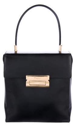 Salvatore Ferragamo Leather Top Handle Bag