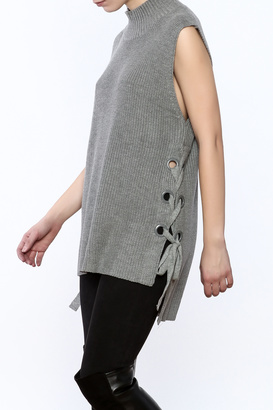 Do & Be Sleeveless Sweater $65 thestylecure.com