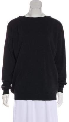 Brunello Cucinelli Metal Trimmed Cashmere Sweater