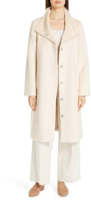 Eileen Fisher Alpaca Blend Long Coat