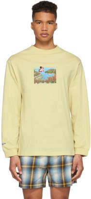 Carne Bollente Yellow Womb Raider Long Sleeve T-Shirt