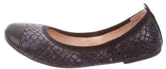 Bloch Embossed Cap-Toe Flats
