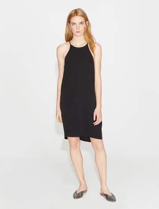 Halston Crepe Slip Dress