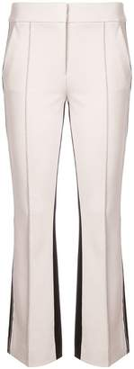 Schumacher Dorothee contrasting bootcut trousers