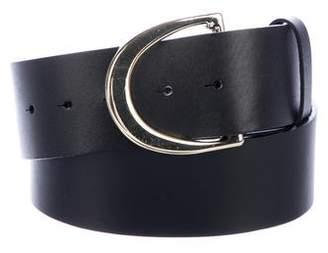 Frame Leather Buckle Belt