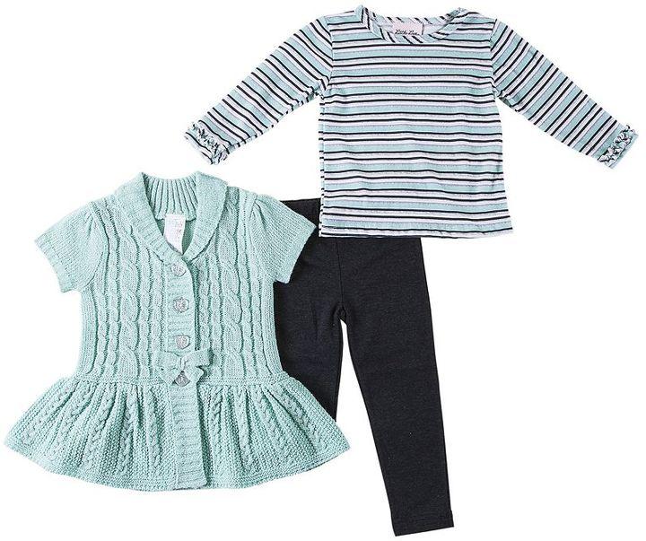 Little Lass 3-pc. sweater set - girls 4-6x