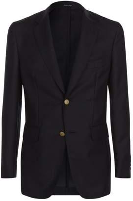 Dunhill Wool-Mohair Tailored Blazer