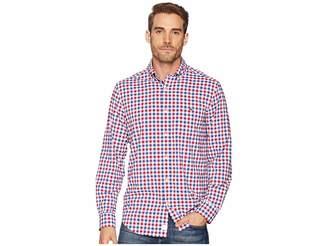 Vineyard Vines Performance Gull Island Gingham Tucker Shirt Men's Clothing
