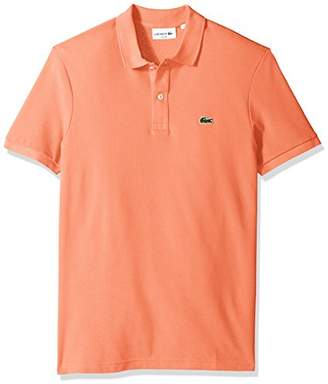 Lacoste Men's Classic Pique Slim Fit Short Sleeve Polo Shirt
