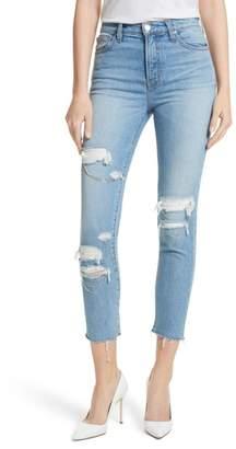 IRO Genn.US Chain Detail Ripped Skinny Jeans