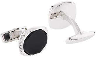 Dunhill Faceted Onyx Cufflinks