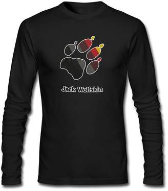 Jack Wolfskin long sleeve Tops T shirts For 2016 Mens Printed Long Sleeve tops t shirts