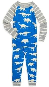 Hatley Little Boy's & Boy's Dinos Two-Piece Pajama Set
