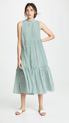 Asceno Long Neck Tie Dress