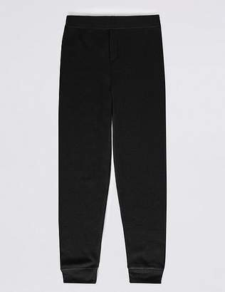 Marks and Spencer Cuffed Hem Thermal Long Pants (18 Months - 16 Years)