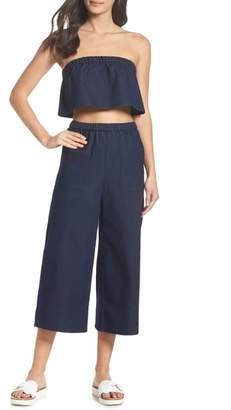 Ali & Jay Ocean Breeze Two-Piece Chambray Jumpsuit