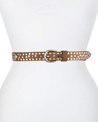 Isabel Marant Zalli Studded Leather Belt