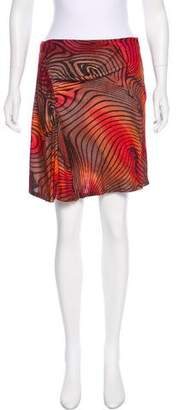 Versace Printed Mini Skirt
