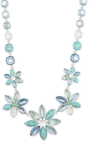 Anne Klein Anne Klein Floral Collar Necklace