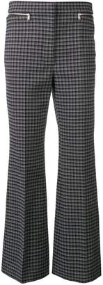 Sonia Rykiel tailored check trousers